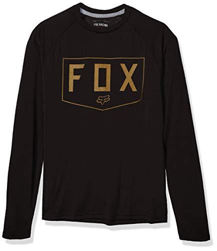 Fox Shield Ls Tech Tee Black L -