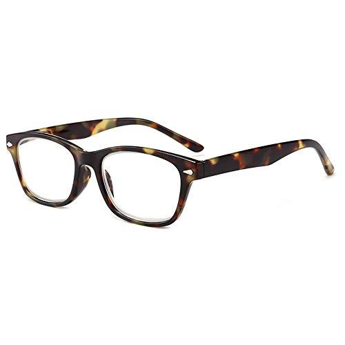 GEMSeven Unisex-Lesebrille für Sight Leopard Print Frame Brillen