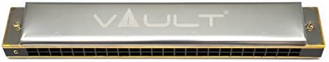 Vault HA1020 Key C 24-Hole Beginner Harmonica
