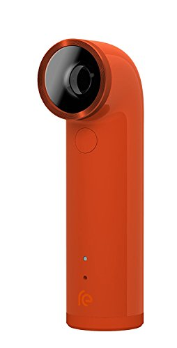 Orange : Htc Re 16.0mp Waterproof Digital Camera (orange)