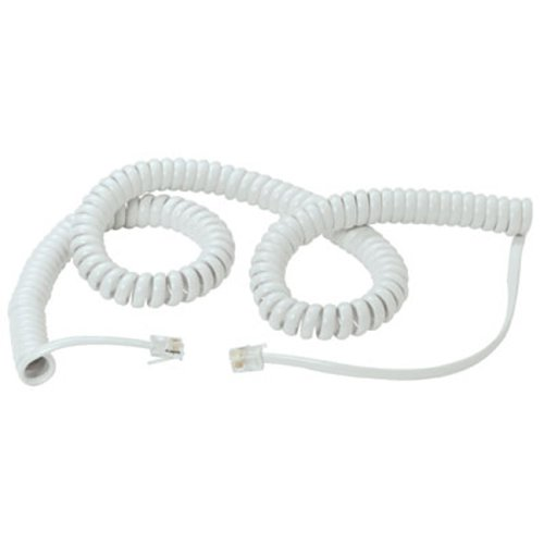 Coiled Telephone Handset Cord
