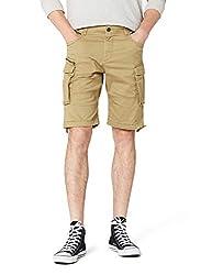 JACK & JONES Herren JJICHOP JJCARGO AKM 429 STS Shorts, Beige (Kelp Kelp), 52 (Herstellergröße: L)
