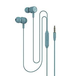 In-Ear-Kopfhörer Handy verdrahtet Kopfhörer Draht-Steuerung kann Musik-Headset Metall-Kopfhörer 3,5 mm rundes Loch anrufen Bequem in das Ohr eingebautes Mikrofon zur Rauschunterdrückung