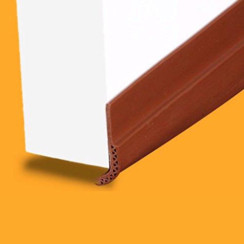 3bluesky Unter Tür Draft Stopper untergrenze Akustik Dichtungen selbstklebend Silikon 28x 910mm 1–1/20,3cm X 2,98Füße Maroon (Draft Stopper Tür)