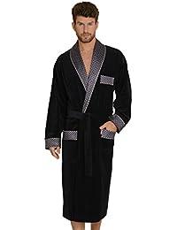 beaee228dc322 FOREX Lingerie Peignoir Robe de Chambre Haut de Gamme pour Homme en Coton,  fabriqué