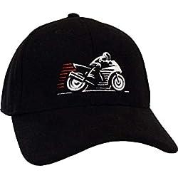 Gorra de béisbol: Moto/Base-Cap/Regalo Motero/Regalos Biker/Gorras de hombre y mujer/Gorro Chopper/Gorros Tuning/Boina niña niño/Boinas Trabajo/Tapa/Coche/Snap