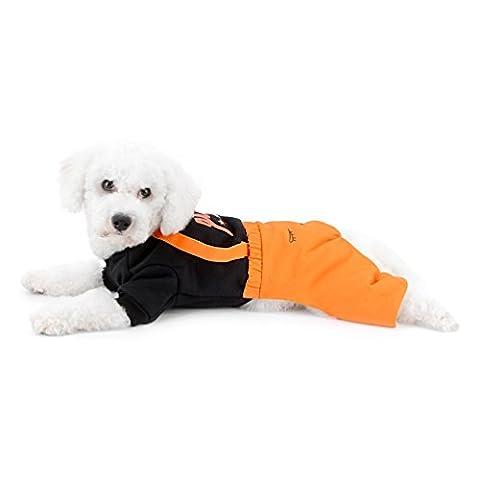 Smalllee _ Lucky _ Ranger Chien Sweat-shirt pour chiens de petite taille Chat tenues quatre pieds JumpSuit Fille Garçon mignon Chihuahua Vêtements doux Animal Pyjama