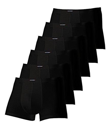 Ceceba Herren Pants 2700 6er Pack, Farbe:Schwarz;Wäschegröße:6XL;Artikel:schwarz 2700-9000