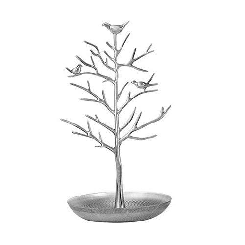 Skyllc® Vögel Baum Schmuck Ständer Display Ohrring Halskette Halter Schmuck Stand Rack Lagerung (Lagerung Baum)
