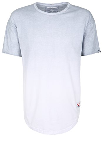 True Religion Herren T-Shirt Crew DEGRADEE Farbverlauf