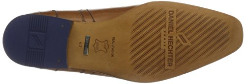 Daniel Hechter 811112051100, Derby Homme Marron (Cognac)