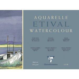 Clairefontaine Aquarellblock 18x24cm 300g rau