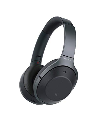 Sony Kabelloser High-Resolution WH-1000XM2 Kopfhörer (Noise Cancelling, Bluetooth, NFC, Headphones Connect App, bis zu 30 Stunden Akkulaufzeit) schwarz thumbnail