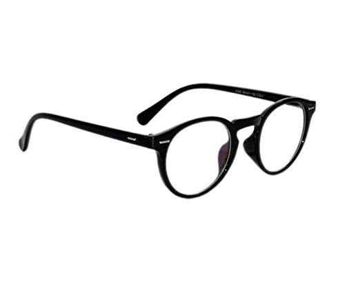 Peter Jones Anti-Reflective Round Unisex Sunglasses - (NA90|48|White Color Lens)