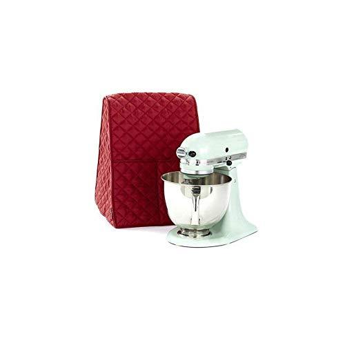 r Abdeckung staubdicht Organizer Tasche passend für die meisten Kitchenaid Mixer Küchenmaschine Zubehör Einheitsgröße rot ()