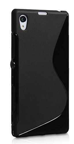 S Case Anti-skid Soft TPU Back Case Cover for Micromax Canvas Doodle 3 A102 (Black)  available at amazon for Rs.139