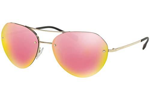 Prada Sport Herren 0PS57RS ZVN5L2 59 Sonnenbrille, Pale Gold/Grey Yellow Rose