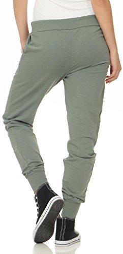 malito Damen Jogginghose im Classic Look | Sporthose in Unifarben | Baggy zum Tanzen | Sweatpants