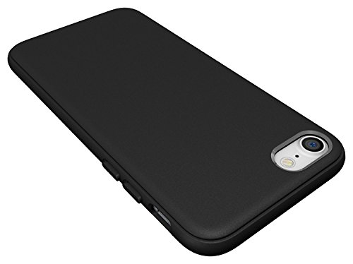 Diztronic DIZ019 TPU Hülle für Apple iPhone 7 pixlee-orange Matte Black