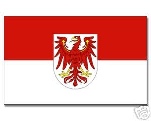Yantec drapeau brandebourg 150 x 250 cm