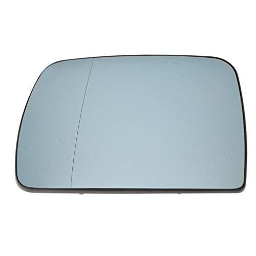 ELENXS Côté Gauche extérieur Remplacement de Verre Chauffage Miroir pour Rearview X5 E53 99 06