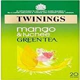Twinings Green Tea Mango & Lychee 20bag x 2