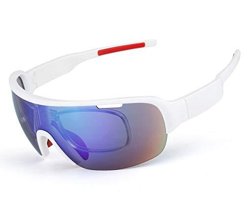 ANSKT TR90 Polarisierte Sport Männer Sonnenbrillen Rennrad Brille Mountainbike Fahrrad Reitbrille Brillen 5 Objektiv, 8