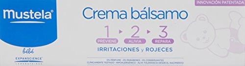 Mustela Crema Balsamo cambio pañal, 150 ml