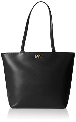 Michael Kors Damen Mott Medium Tote Schwarz (Black), 14.5x28x28 centimeters - Michael Kors Ballerinas Schuhe