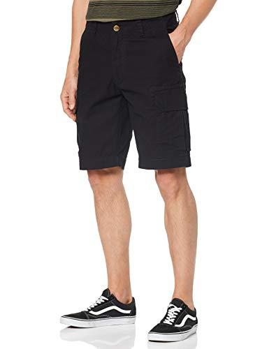 Twill Herren Cargo Pocket Shorts (Dickies Herren Shorts New York, Schwarz (Black), W30)