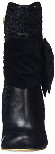 Irregular Choice Damen Rosie Lea Stiefel Black (Black Textured)
