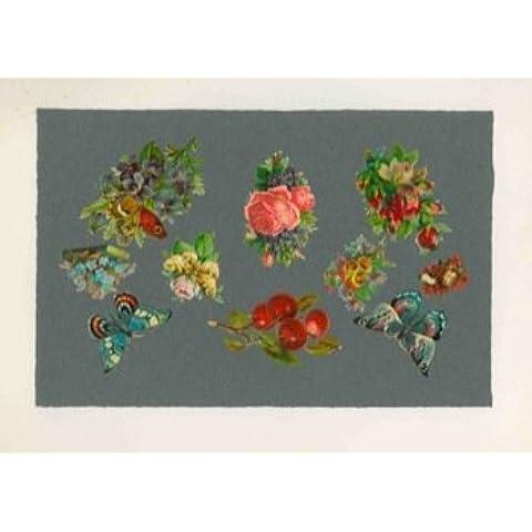 Dieci, tra mazzi di fiori, farfalle,