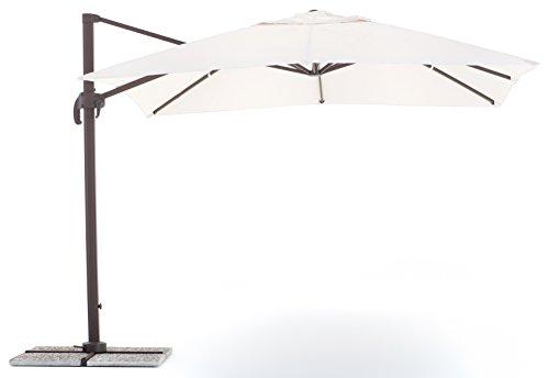 My garden senso ombrellone, ecru, 3x4 metri