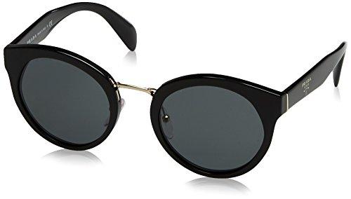 Prada Damen 0PR05TS 1AB1A1 53 Sonnenbrille, Schwarz (Black/Gray),