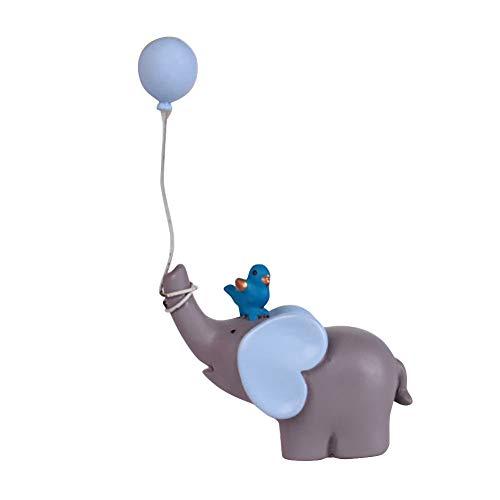 PerGrate Elefant-Ballon-Lutscher-Alles Gute zum Geburtstag-Kuchen-Topper-Nachtisch-Dekor-Geschenk-Verzierung (Geburtstag Dekor Kuchen)