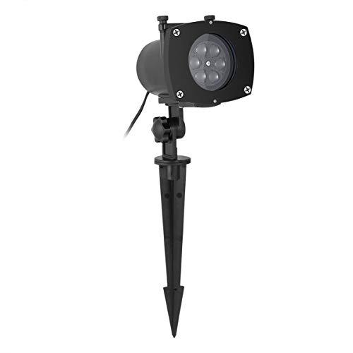 LED schaltbare Dias wasserdicht funkelnde Projektor Lichter Holiday Decor, schwarz