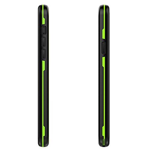 für iPhone X Waterproof Case Cover, Vandot IPX8 Wasserdicht Hülle von Schutz Shock Proof Anti Snow Anti-Staub für iPhone X (iPhone 10) (5,8 Zoll) Wasserdicht Box voll Schutz Cover Hull Shell für Tauch Grün