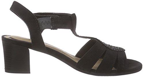 Jane Klain 282 159 Damen Peep-Toe Pumps Schwarz (Black 009)