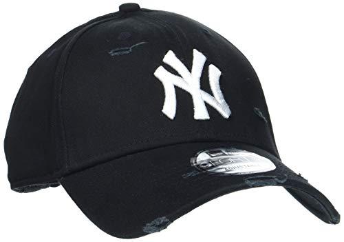 New Era New York Yankees 9forty Adjustable Cap Distressed Seasonal Black - One-Size