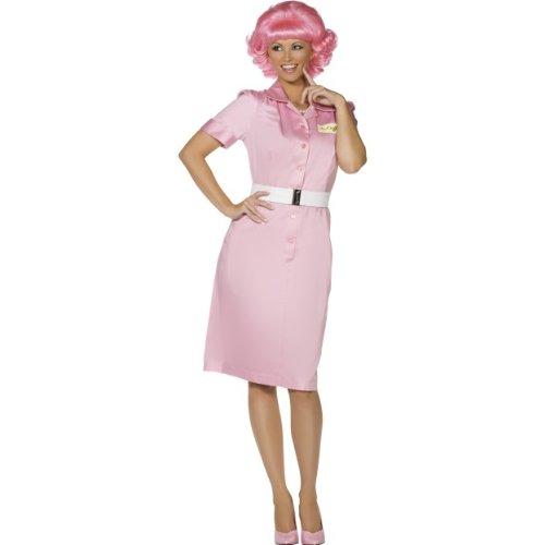 Das Kostüm Grease Musical Für - Smiffys Karneval Damen Kostüm Franky Schülerin Grease Musical Größe M