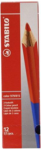 Stabilo - 979/815 - Stabilo Bicolore matita formato standard rosso/blu (conf. 12pz)