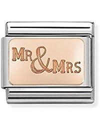 Nomination Women Stainless Steel Bead Charm - 030121/45 PFDIqRW