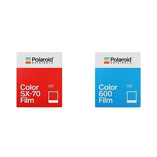 Polaroid Originals - 4676 - Sofortbildfilm Frabe fûr SX-70 Kamera &  Originals - 4670 - Sofortbildfilm Fabre fûr 600 und i-Type Kamera - White Frame