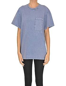 Stella McCartney Mujer MCGLTPS000005003E Azul Claro Algodon T-Shirt