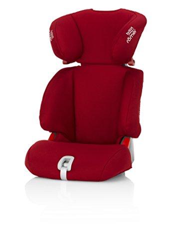 Britax-Discovery-Sl-Base per seggiolino per auto, gruppo 2/3, 4-12 anni, colore: rosso fiamma