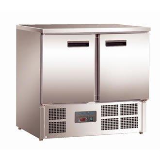 Polar 2portes Compact Comptoir réfrigérateur 240litre Commercial Restaurant américain