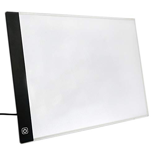 TOOGOO Tablero De Dibujo Luz LED Tableta Tabla De