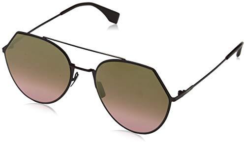 eca120393c Fendi FF 0194/S 0R 0T7 55 Gafas de Sol, Morado (Plum Pink