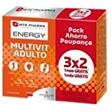 ENERGY MULTIVIT ADULTO 84 COMPRIMIDOS de Forté Pharma