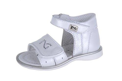 Nero Giardini Junior , Chaussures premiers pas pour bébé (fille) Blanc Cassé blanc 22 - Blanc Cassé - Perl. Bianco, 23 EU